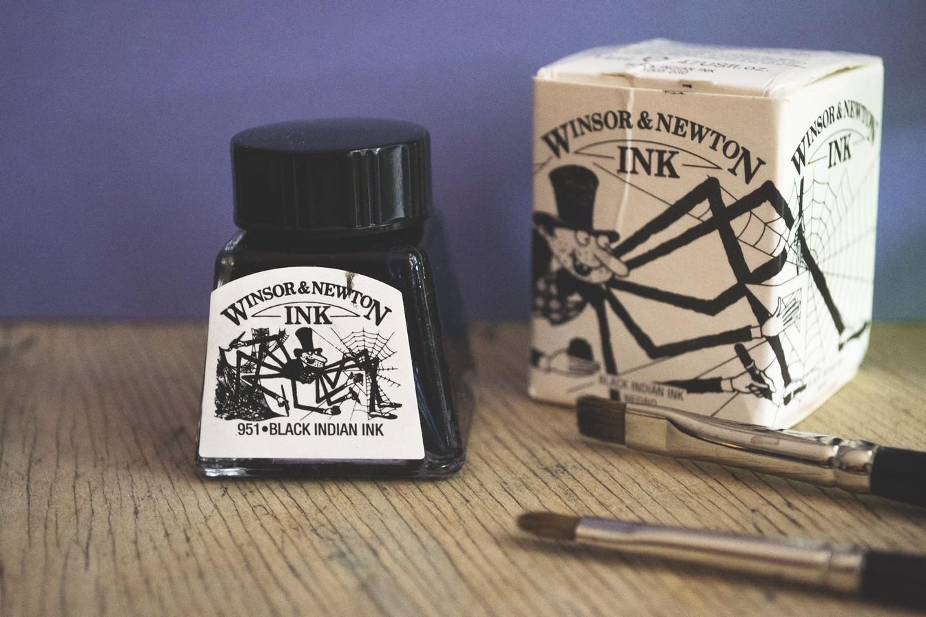 Waterproof Ink W&N