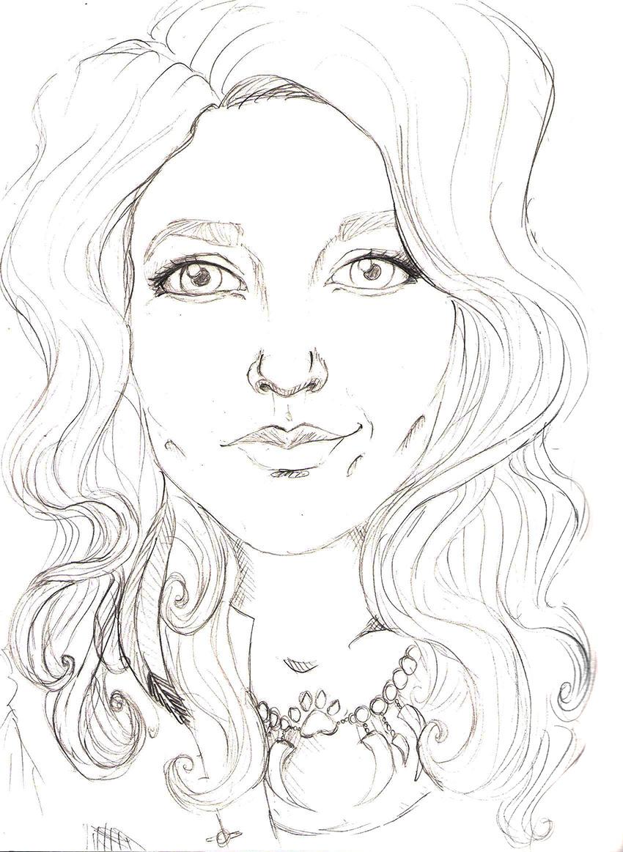 Magda sketch